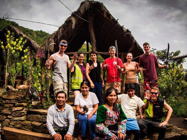 Jungle Trail naar Machu Picchu